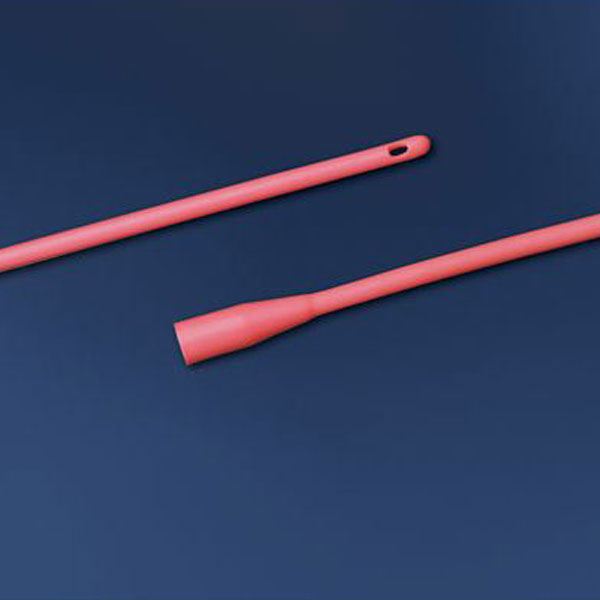 Red Rubber Catheter